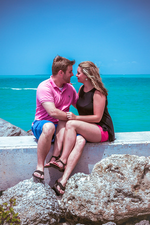 Key West engagement